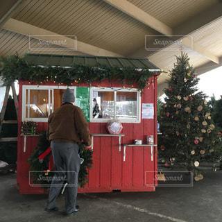 冬,アメリカ,クリスマス,クリスマスツリー