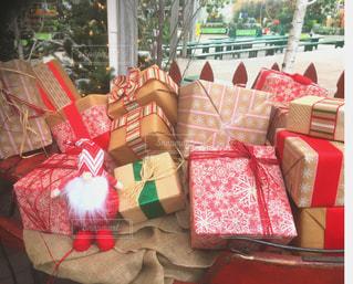 冬,プレゼント,クリスマス,サンタ,ギフトフトボックス