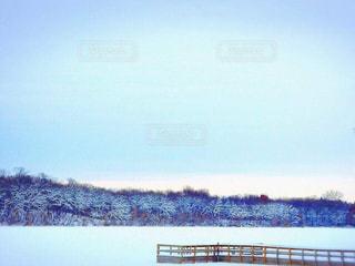 自然,冬,雪,湖,白,クリスマス,白銀の世界