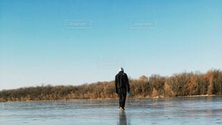 自然,冬,湖,クリスマス