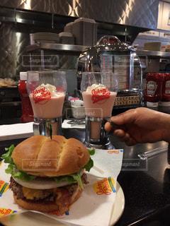 No.390221 ハンバーガー