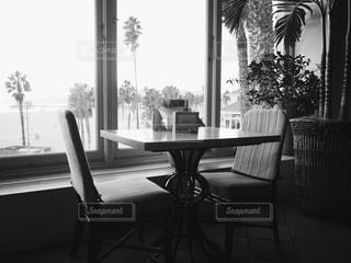 ビーチが見えるレストランの予約席 - No.832609