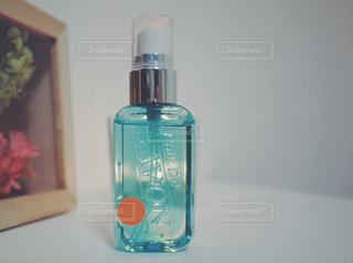 イノセントタイム レールデュサボン ローズシャボンの香り / クローズ ボトルのアップの写真・画像素材[1184902]