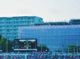 サッカー 観戦 応援 サッカーボールの写真・画像素材[1320755]