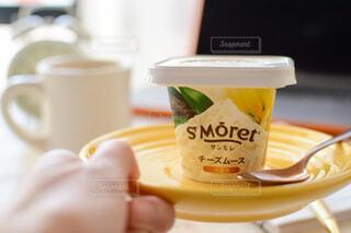 サンモレ チーズムース バニラの写真・画像素材[3979902]