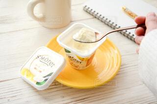 サンモレ チーズムース バニラの写真・画像素材[3986078]