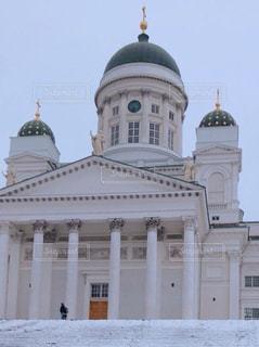 ヘルシンキ大聖堂の写真・画像素材[1051618]