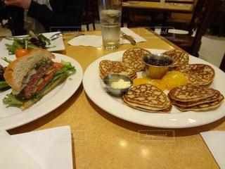 パンケーキ,ハンバーガー,アメリカ,サンフランシスコ,18,Sears Fine Food