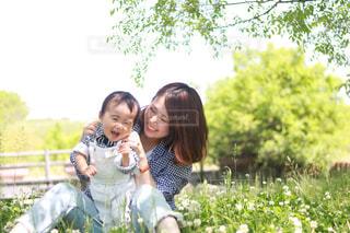 庭園の女の写真・画像素材[726795]