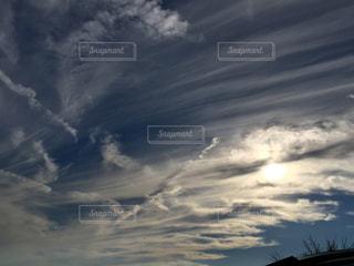 空,秋,太陽,日差し,夕陽,カナダ,秋空,フォトジェニック