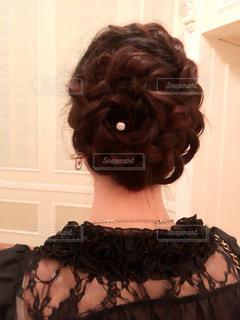 髪型の写真・画像素材[394880]