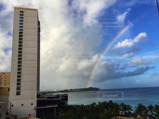グアムの虹の写真・画像素材[1214844]