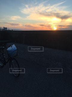 夕日の写真・画像素材[422892]