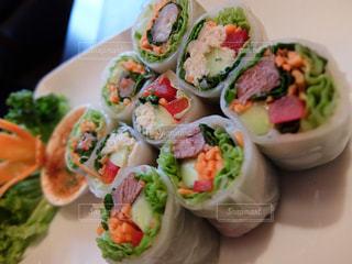 食事,カラフル,イギリス,ロンドン,料理,タイ料理,生春巻き,PATARA