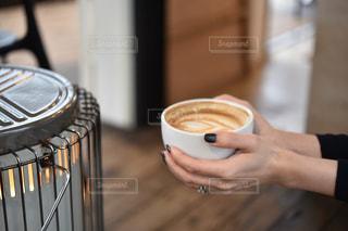 女性,カフェ,コーヒー,手,ハート,人,ストーブ,ラテアート,ラテ