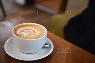 カフェ,風景,コーヒー,東京,テーブル,ハート,ラテアート,ラテ