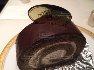 ケーキ,濃いめ,丸福コーヒー,コーヒーロール