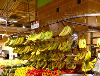 ニューヨーク,アメリカ,スーパーマーケット,壁掛け,バナナ