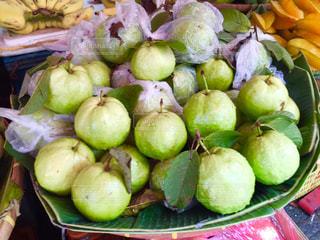 街角,フルーツ,市場,タイ,バンコク,グアバ