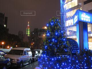 冬,光,キラキラ,クリスマス,サンタ,台北,思い出,輝き,101