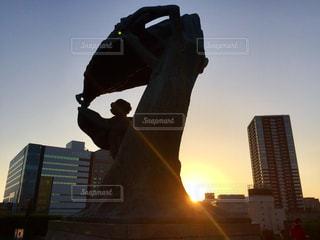 ショパンの丘のショパン像の写真・画像素材[966176]