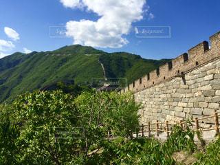 北京の長城の写真・画像素材[1109422]