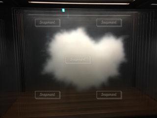 ハートの♥️雲の写真・画像素材[1112647]