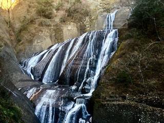 糸のような袋田の滝の写真・画像素材[1491234]