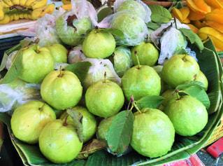 食べ物,フルーツ,果物,市場,タイ,バンコク,露店,グアバ