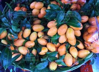 食べ物,マンゴー,フルーツ,果物,市場,タイ,バンコク,露店