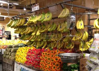 ニューヨーク,アメリカ,スーパー,バナナ,吊