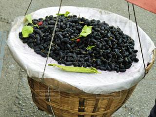 中国,四川,量り売り,桑の実,成都,天秤棒
