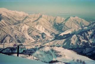 スキー場山頂からの写真・画像素材[2960369]