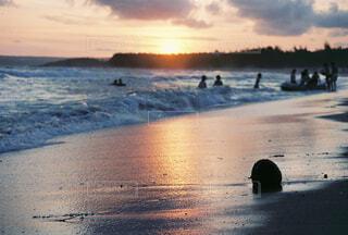 墾丁の海岸での写真・画像素材[4459387]