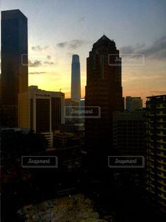 クアラルンプールの夕暮れの写真・画像素材[4459399]