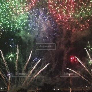夏,東京,花火,花火大会,河川敷,納涼,荒川,景観,足立区,足立