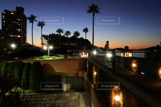 百道浜夜景の写真・画像素材[1702581]