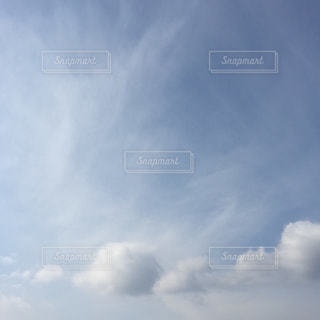 空に雲の群しをするの写真・画像素材[2415255]