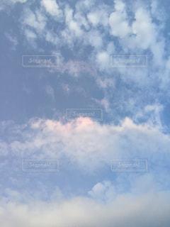 空に雲の群しをするの写真・画像素材[2426007]