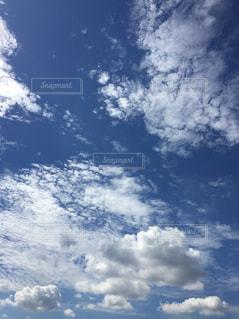 空に雲の群しをするの写真・画像素材[2428369]