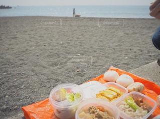 お弁当,ビーチ,海辺,おにぎり,浜辺,サイクリング