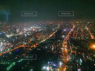 夜景,大阪,あべのハルカス,素敵,落ち着く,私の街,天空庭園