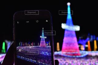 冬,夜景,カラフル,光,イルミネーション,クリスマス,winter,color,Xmas