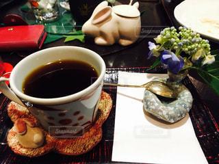 カフェ,コーヒー,うさぎ,静か,あじさい,レトロ,珈琲,生け花,花器,伊香保,てまり