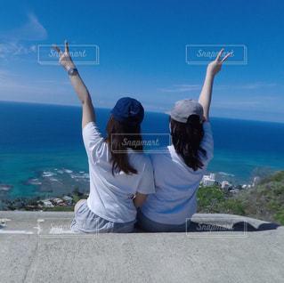 旅行,ハワイ,trip,ツーショット,Twins,2ショット