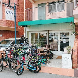 カフェ,自転車,スコーン,神戸,三宮,SPARK