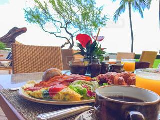 朝食,アメリカ,ハワイ,Hawaii,ワイキキ,waikiki,halekulanihotel,HouseWithoutaKey,ハレクラニホテル,Kiawe,キアヴェ