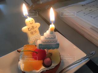 ケーキ,ウクレレ,happy,ハッピー,お誕生日,うれしい,おたんじょうひ
