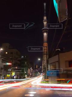 東京スカイツリーの写真・画像素材[572459]