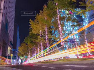夜の街の写真・画像素材[931826]